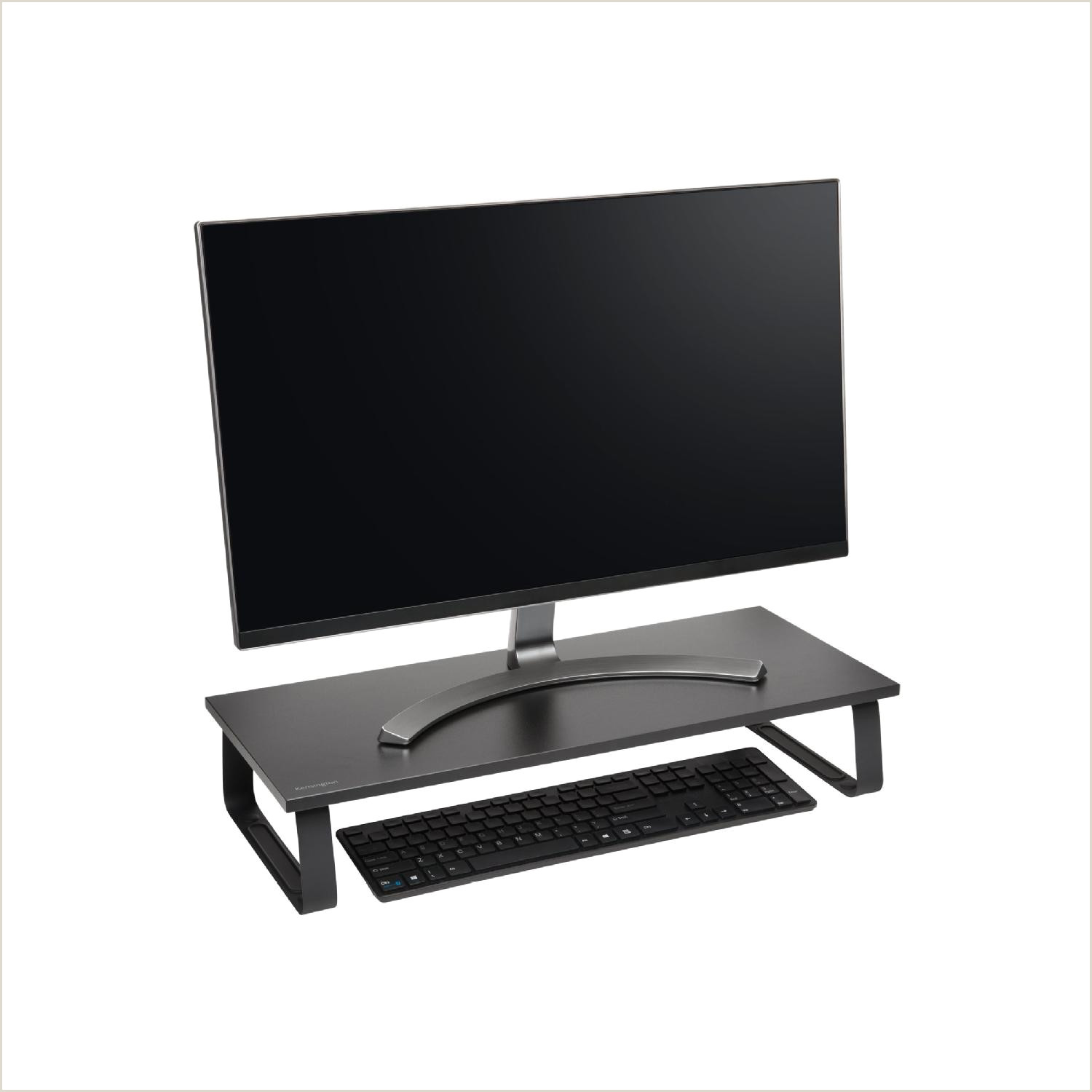 Sign Displays Stands Kensington Extra Wide Monitor Stand Monitor Stand