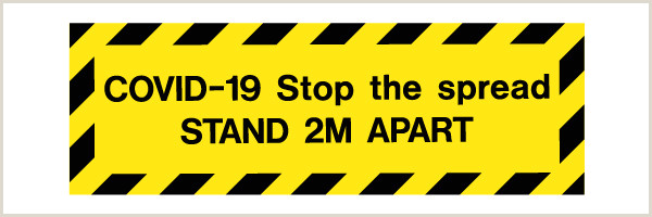 Sign Displays Stands Sd102 Please Stand Apart Sign Display Signs