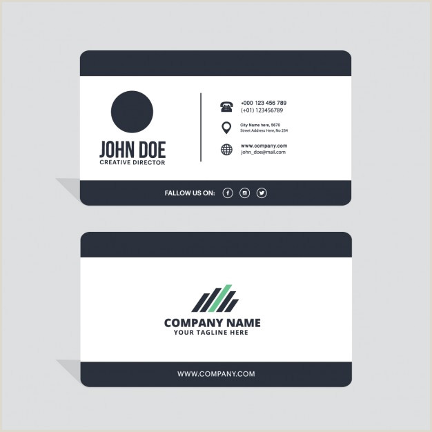 Simple Business Card Download Vector Simple Business Card Layout Vectorpicker