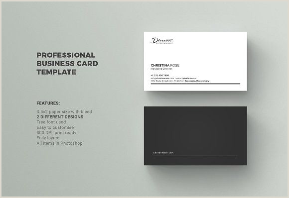 Simple Business Card Template Business Card