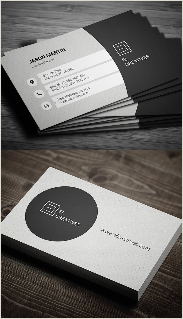 Simple Business Cards Designs 80 Best Of 2017 Business Card Designs Design