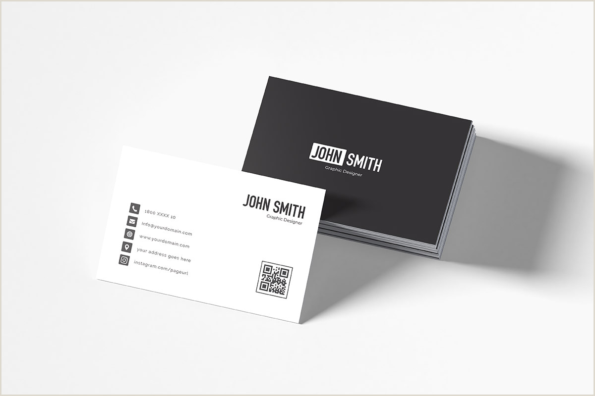 Simple Business Cards Templates Free Simple Business Card Template Creativetacos