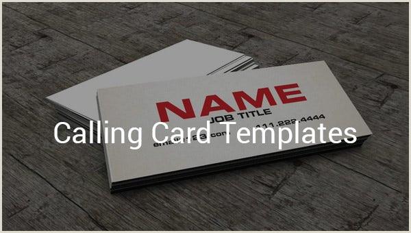 Simple Calling Card 12 Calling Card Templates Doc Pdf Psd Eps