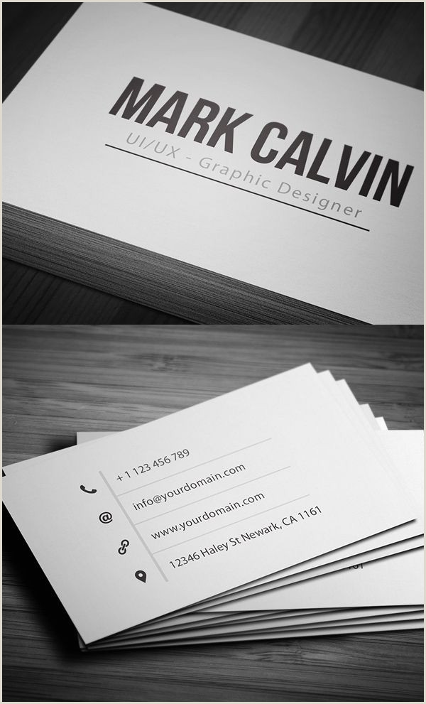 Simple Personal Business Cards 25 Modern Business Cards Design Print Ready