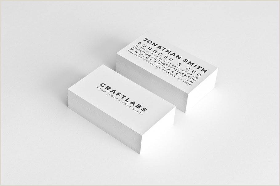 Simple Personal Business Cards Simple Personal Business Card 30