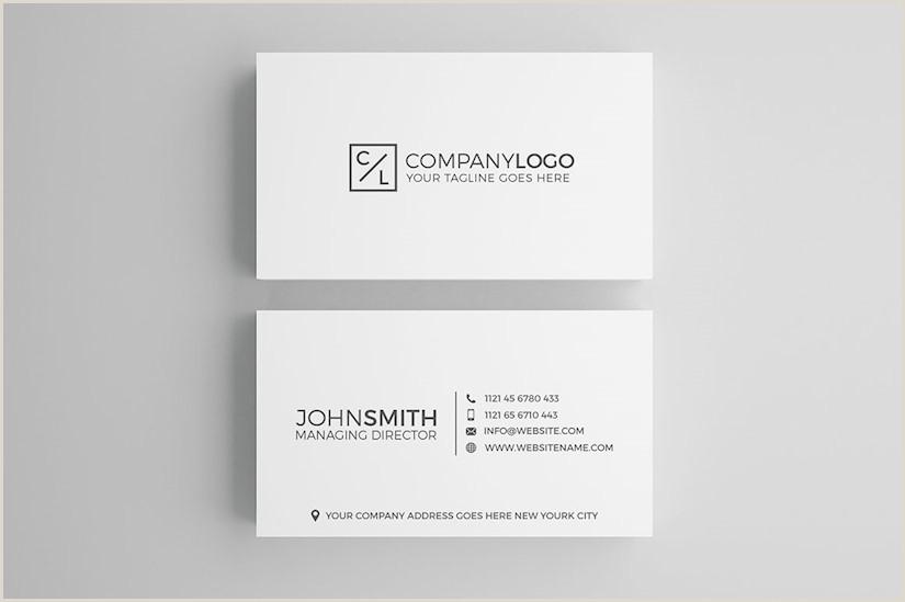 Sleek Business Card Design 110 Minimalist Business Cards Mockups Ideas And Templates