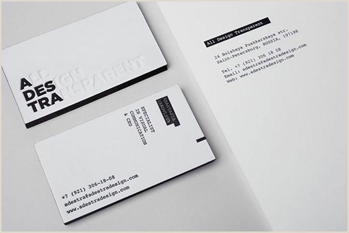 Sleek Business Card Design 40 Elegant Minimal Business Card Designs 2018 – Bashooka