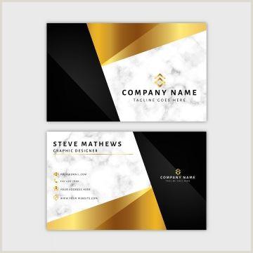 Sleek Business Card Design Marble Business Card Template