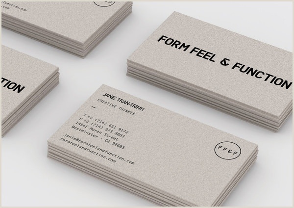 Sleek Business Cards 20 Minimalistic Business Card Designs For Your Inspiration