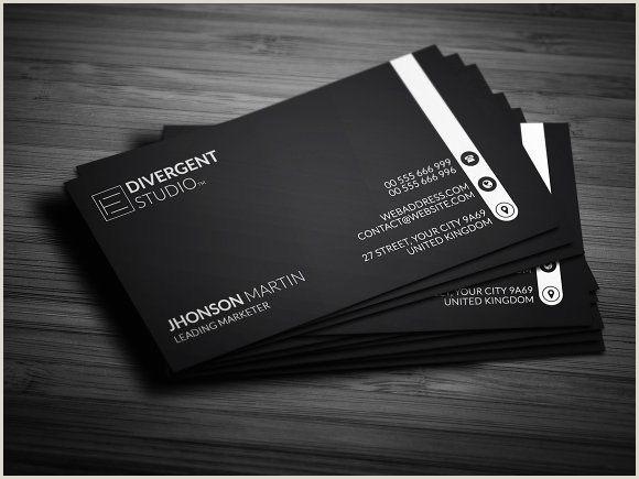 Sleek Business Cards Sleek & Clean Business Card