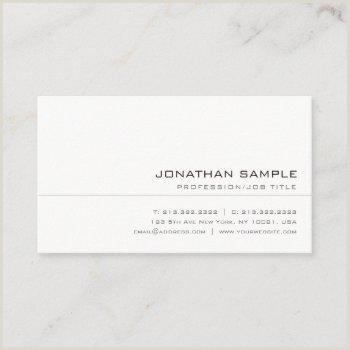 Sleek Business Cards Sleek Business Cards