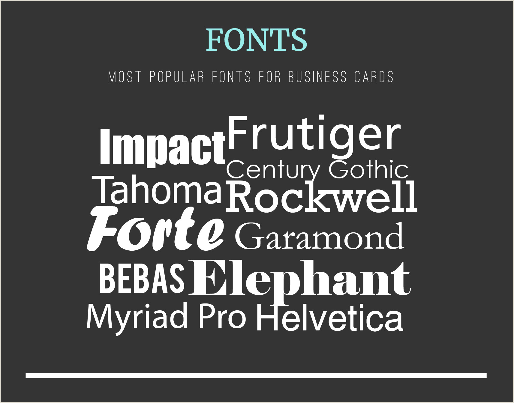 Smallest Font Size For Business Cards The Most Prehensive Business Card Design Guide