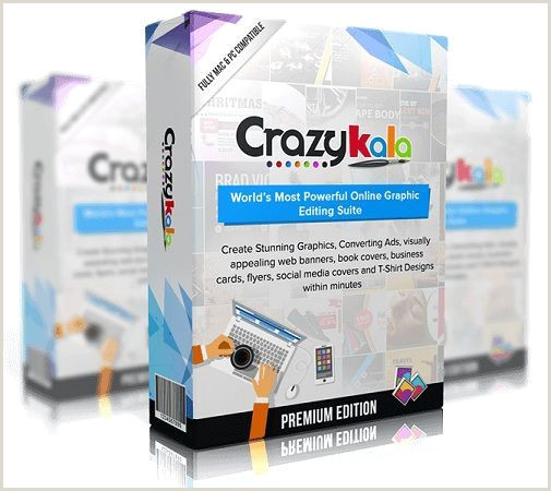 Social Media Best Business Cards Crazykala 2 0 Review – Create Beautiful Graphics Banners