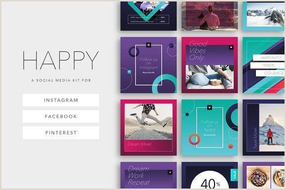 Social Media Best Business Cards Happy Social Media Kit