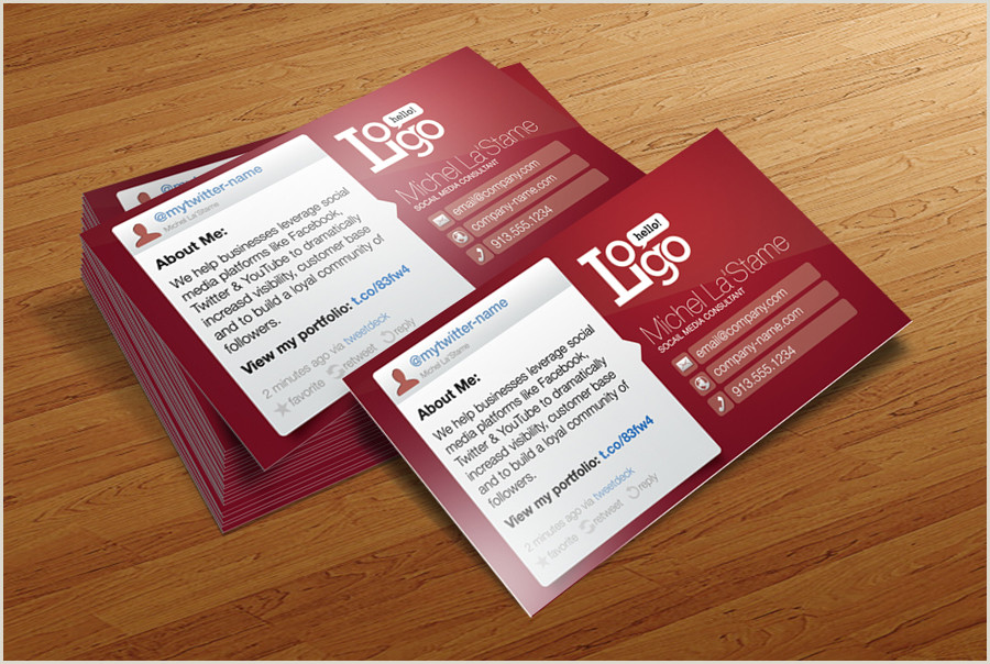 Social Media Business Cards Template Social Media Business Card Template Cursive Q Designs