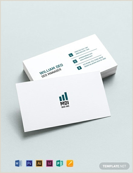 Social Media Marketing Business Cards 10 Digital Marketing Business Cards Illustrator Indesign