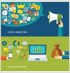 Social Media Marketing Business Cards Digital Marketing Business Card Vector Over 35 000