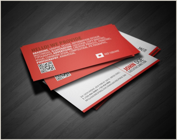 Square Business Card Template Word 18 Square Business Card Templates Psd Word Pages