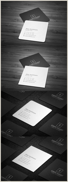 Square Business Card Template Word 400 Best Business Card Images In 2020