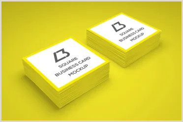 Square Business Card Template Word 53 Square Business Card Templates Free Psd Word Designs