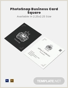 Square Business Card Template Word Free Square Simple Business Card Template Word Doc