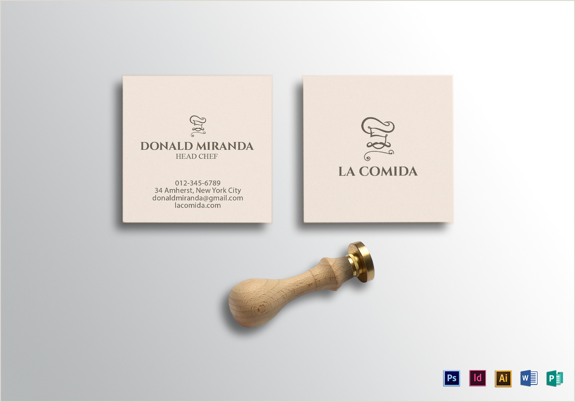 Square Business Card Template Word Square Business Card Design Template In Psd Word Publisher