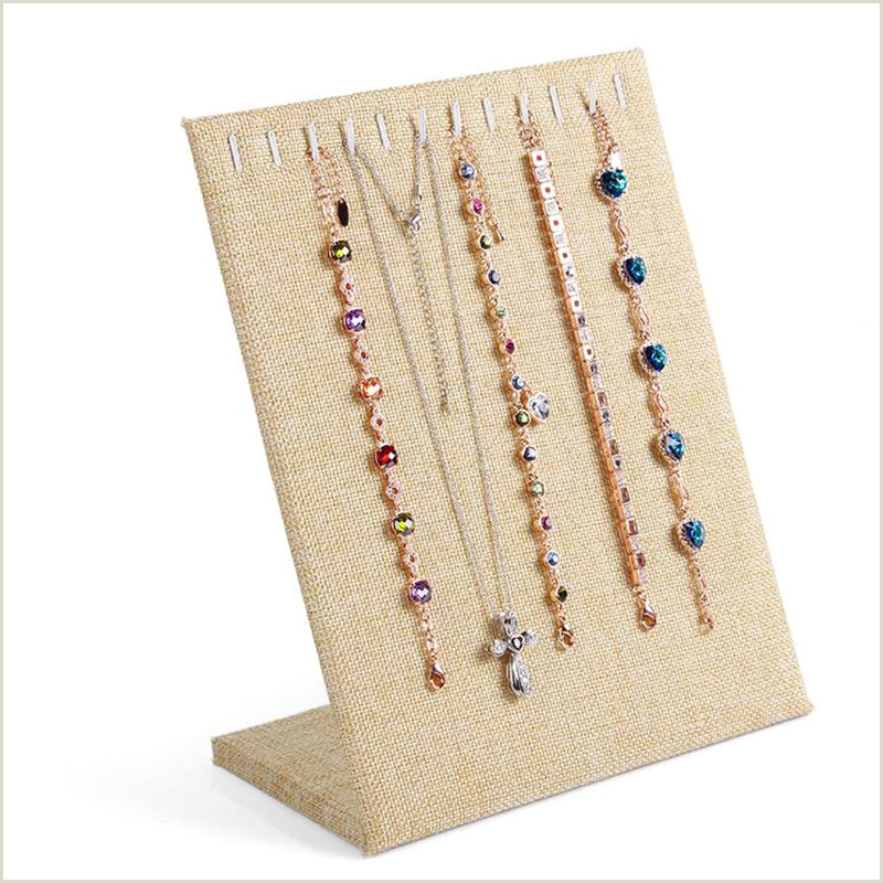 Stand Alone Display Boards Discount Necklace Display Boards
