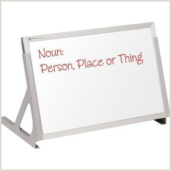 Stand Alone Display Boards Magnetic Desktop Dry Erase Board Learner Supply