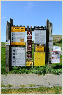 Stand Alone Display Boards Signage
