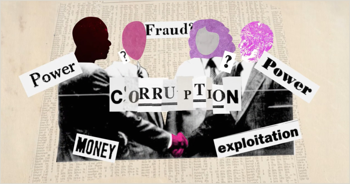 Stand Up Banner Designs What Is Corruption Transparency
