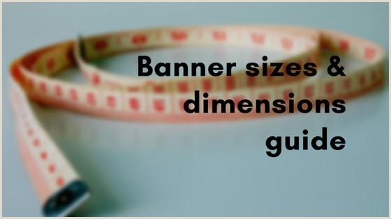 Stand Up Banner Dimensions Banner Size Guide Dimensions