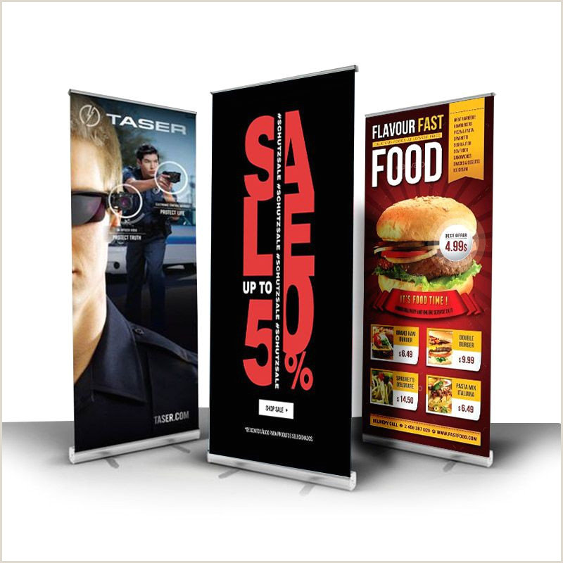 Stand Up Display Signs Roll Up Banner Display Mexico In 2020