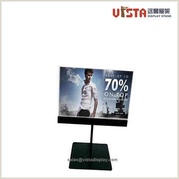Stand Up Poster Display Apparel Island Displays Store Island Displays Clothing