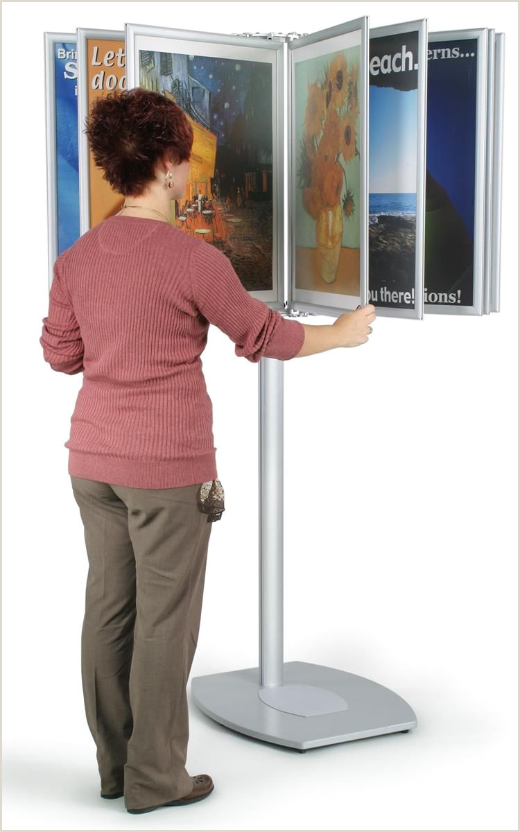 Stand Up Poster Display Display Stand