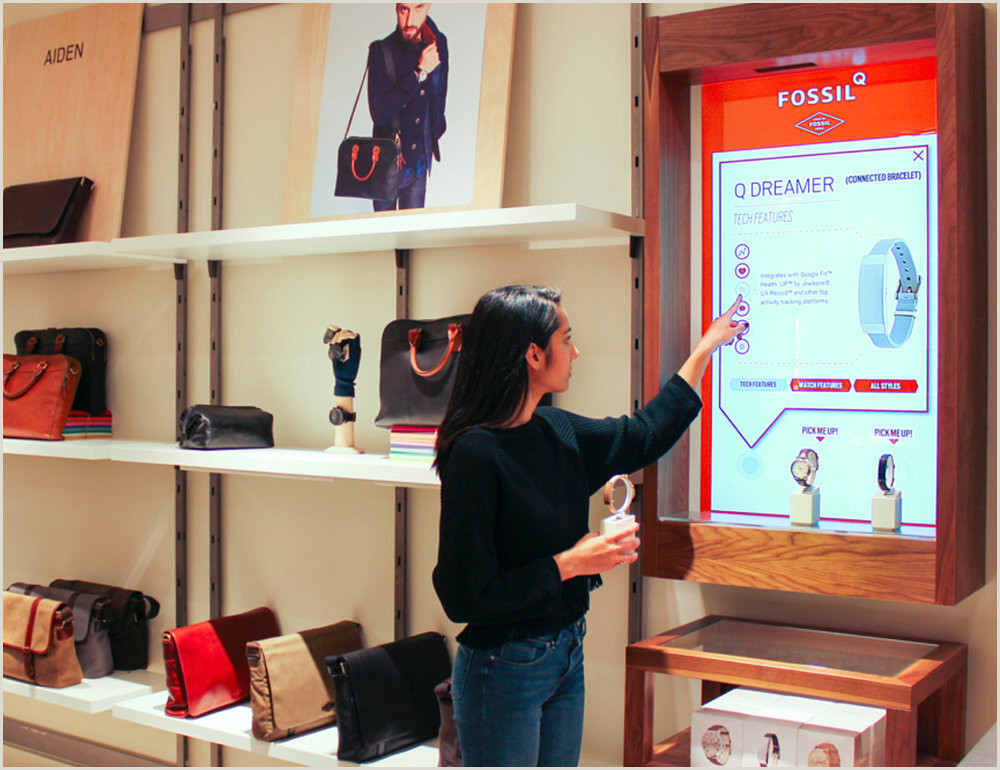 Stand Up Signage Perch Retail Marketing Lift And Learn Digital Signage