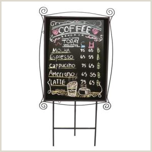 Standing Banners For Displays Black Board For Menu Koffeemart ศูนย์รวมอุปกรณ์ร้านกาแฟครบ
