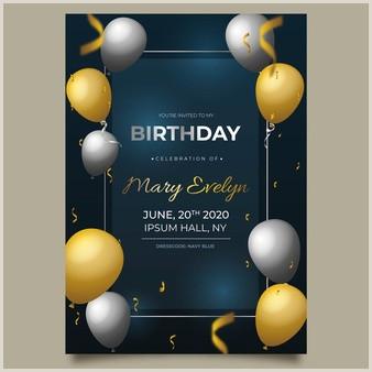 Stylish Business Cards Birthday Card