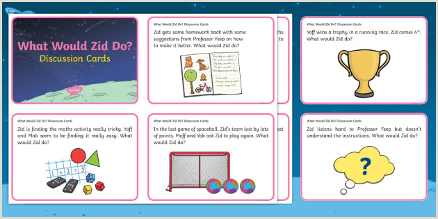 Suggestion Cards Examples the Best Dress Ever Growth Mindset Scenario Discussion Cards