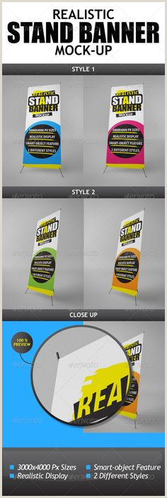 T Pole Banner Stands 30 Best Roll Up Banners Images