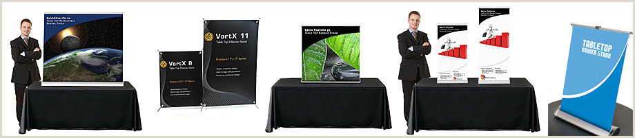 Table Top Pop Up Banner Table Top Banner Stands
