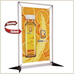 Table Top Pop Up Banner Tabletop Retractable Banner Stands