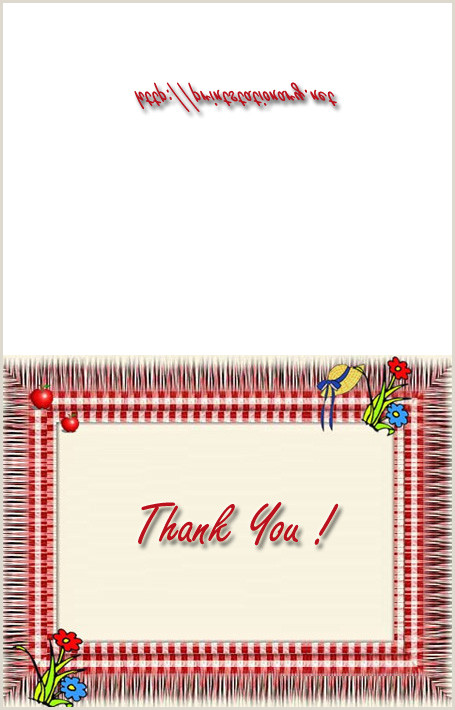Thank You Business Cards Templates Free Business And Office Thank You Postcards Free Printable