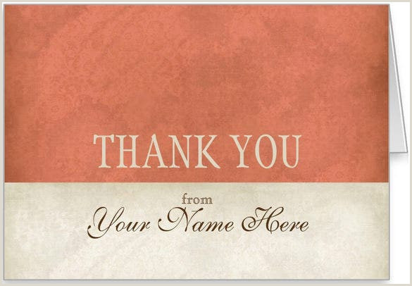 Thank You For Your Business Card 18 Business Thank You Cards