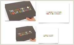 Thank You For Your Business Card 20 Best Thank You Business Cards Images