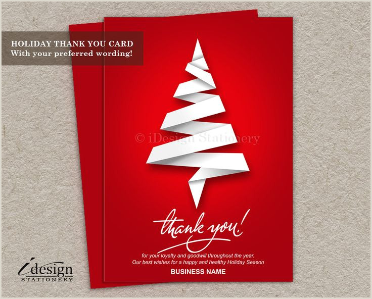 Thanks For Your Business Cards Business Christmas Thank You Cards] Business Staff Christmas