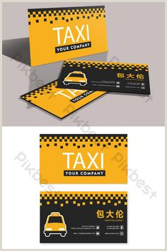 The Best Business Cards For Taxi 30 Best Business Cards Images In 2020