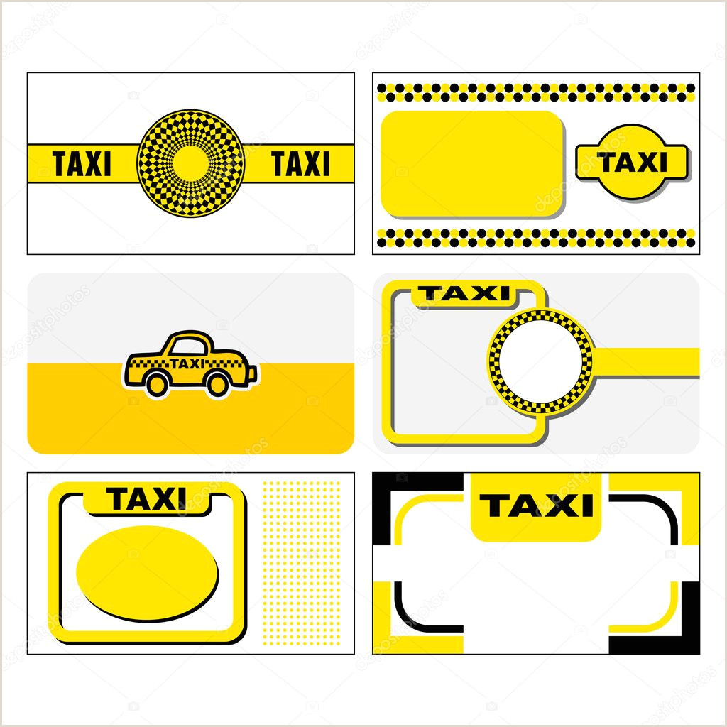 The Best Business Cards For Taxi Image Taxi Business Cards