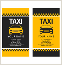 The Best Business Cards For Taxi Image Taxi Business Cards Templates Vector Over 190