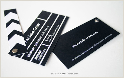 The Best Business Cards For The Film Industry 15 Inspirational Business Card For Industry – Smashfreakz