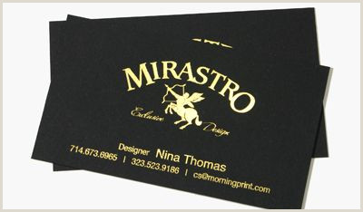 The Best Business Cards For The Price Morningprint Black Paper Business Cards With Glossy Gold